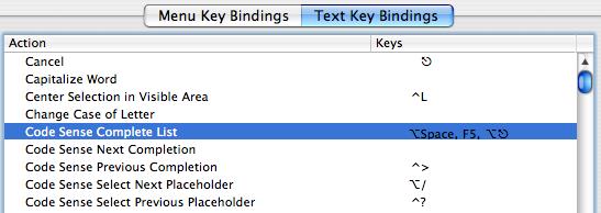 Xcodecodesensebinding