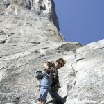 Corbin on El Cap in Yosemite