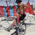 Recumbent Unicycle