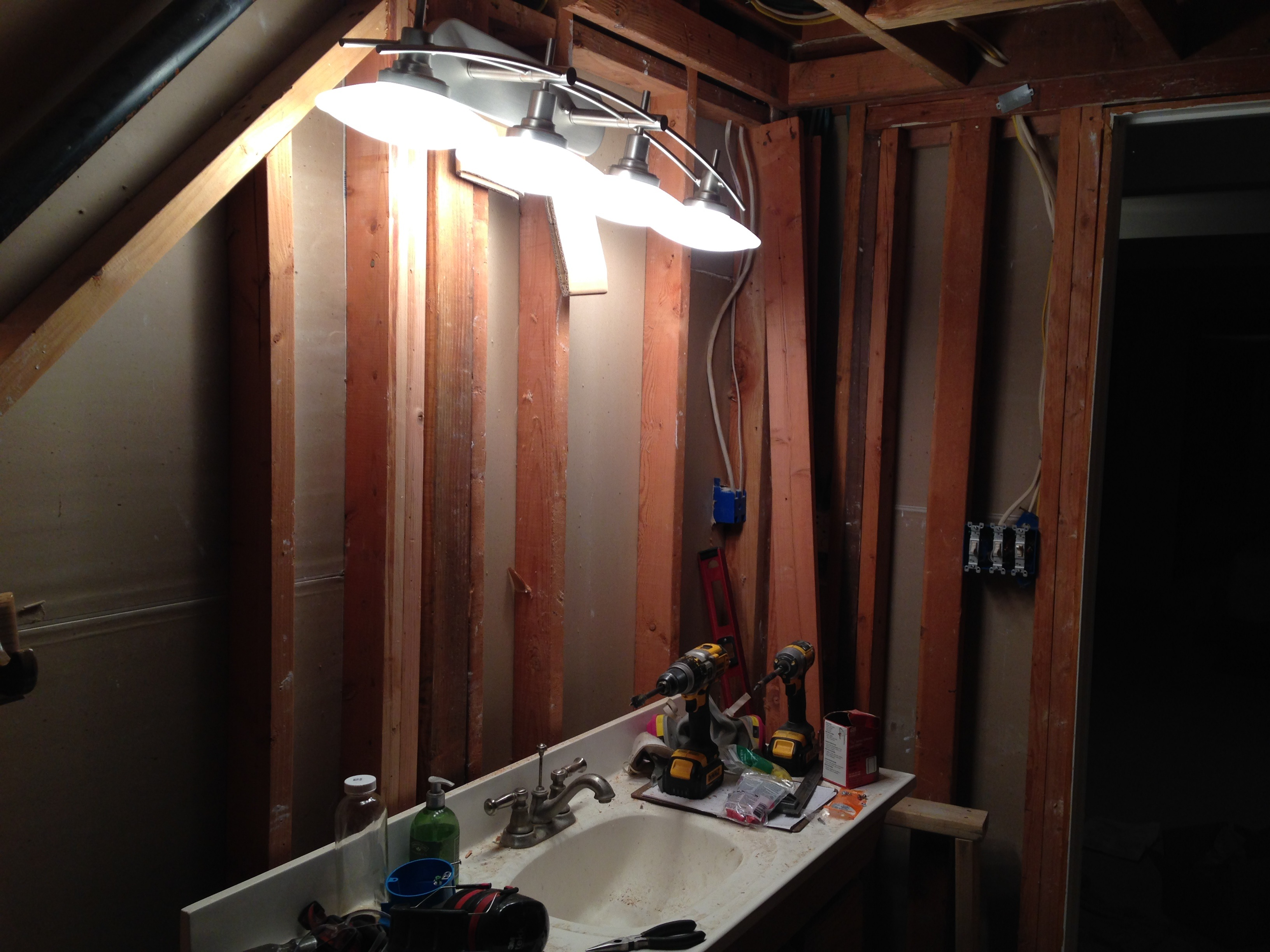 Bathroom Lighting Electrical Code bathroom light with electrical outlet - epienso