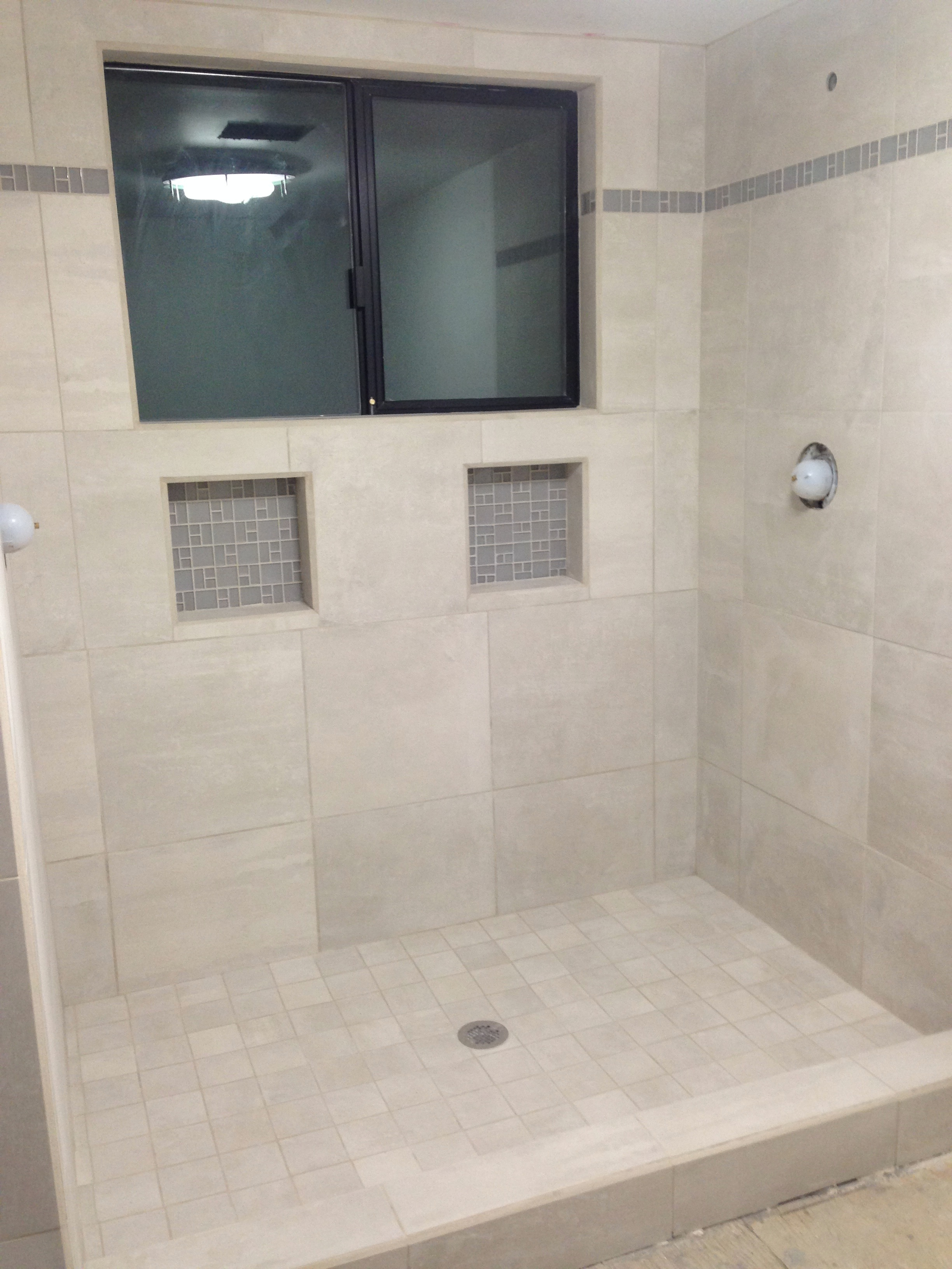Corbin\'s Treehouse » Blog Archive » Bathroom remodel: Shower tile