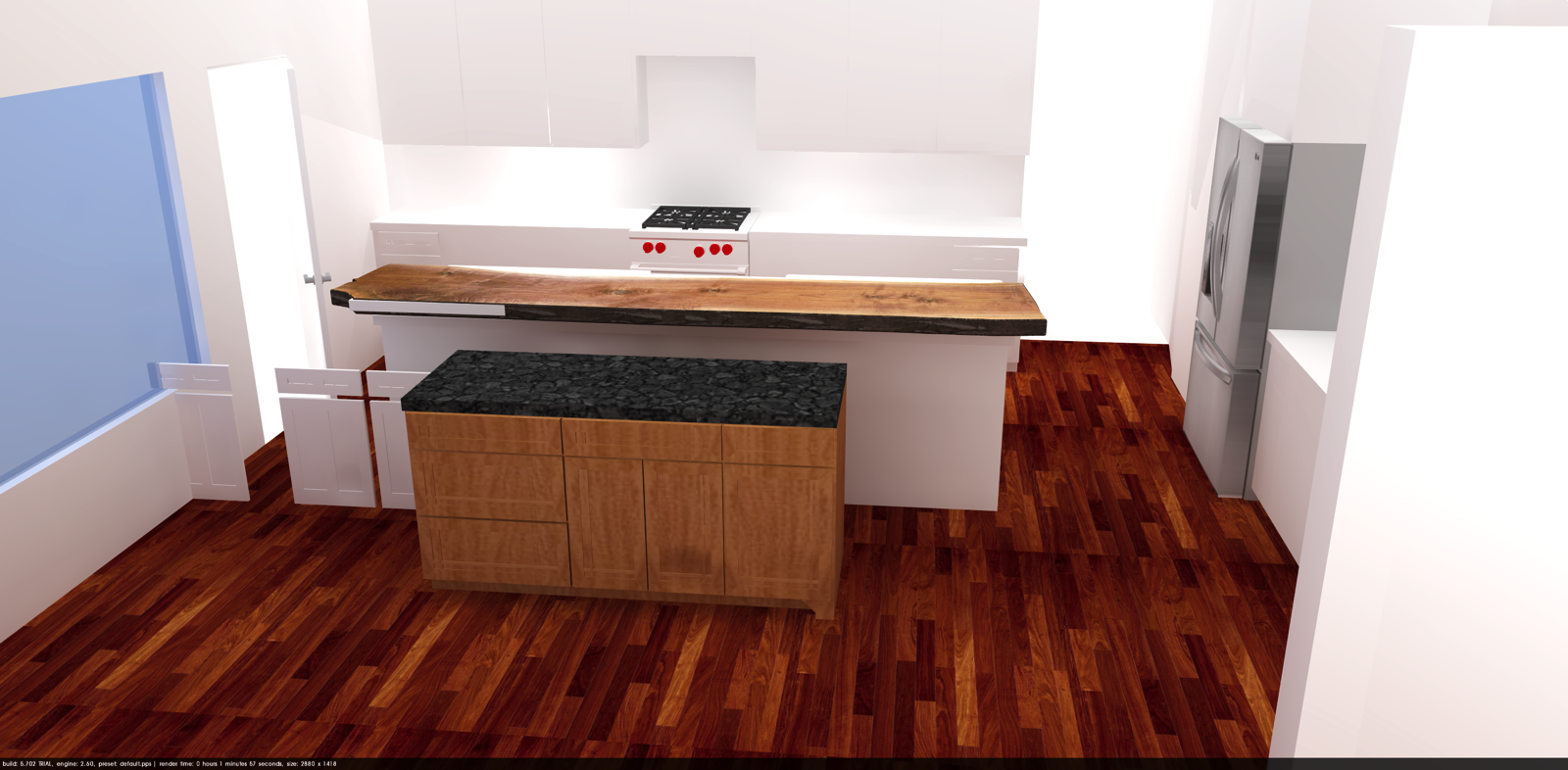 Kitchen Cabinets: Introduction and Sketchup – Corbin's Treehouse