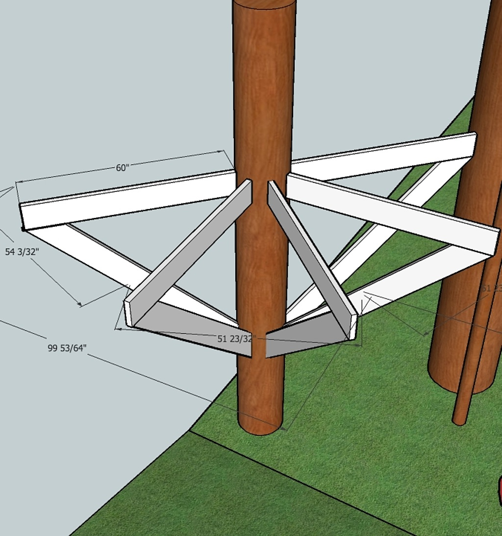 The Circular Treehouse Updated Plans Corbin S Treehouse