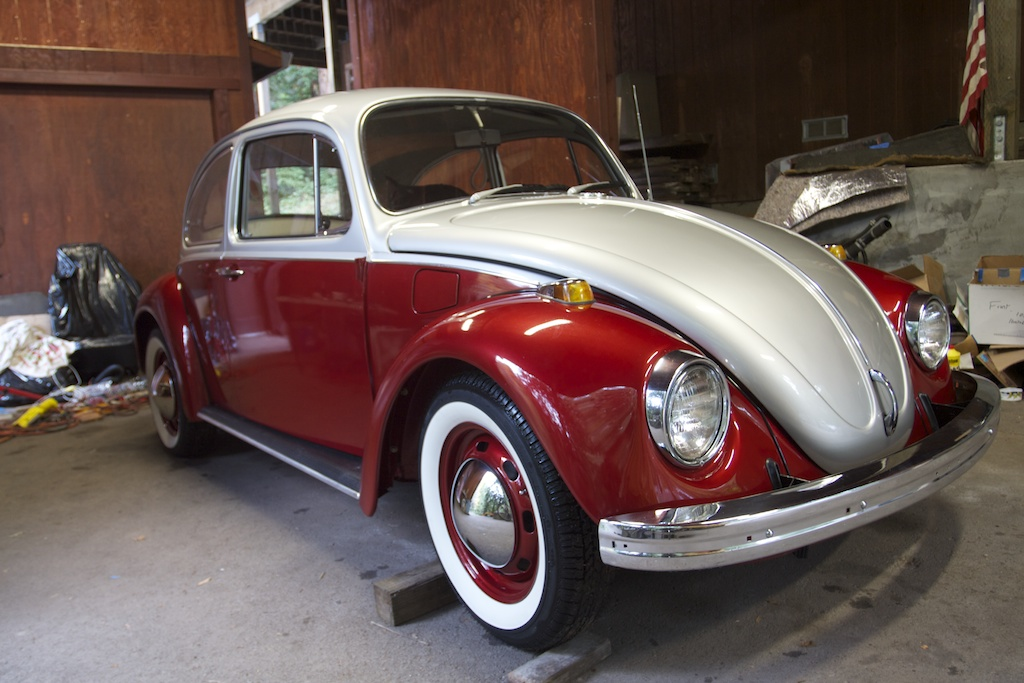 The Plug Bug 1969 Electric Vw Beetle Corbin S Treehouse
