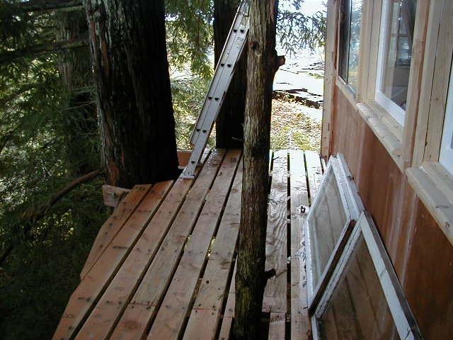 Treehouse deck2