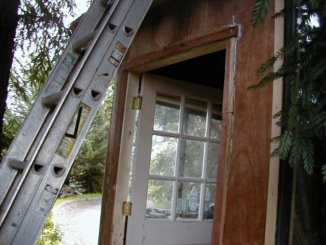 Treehouse door