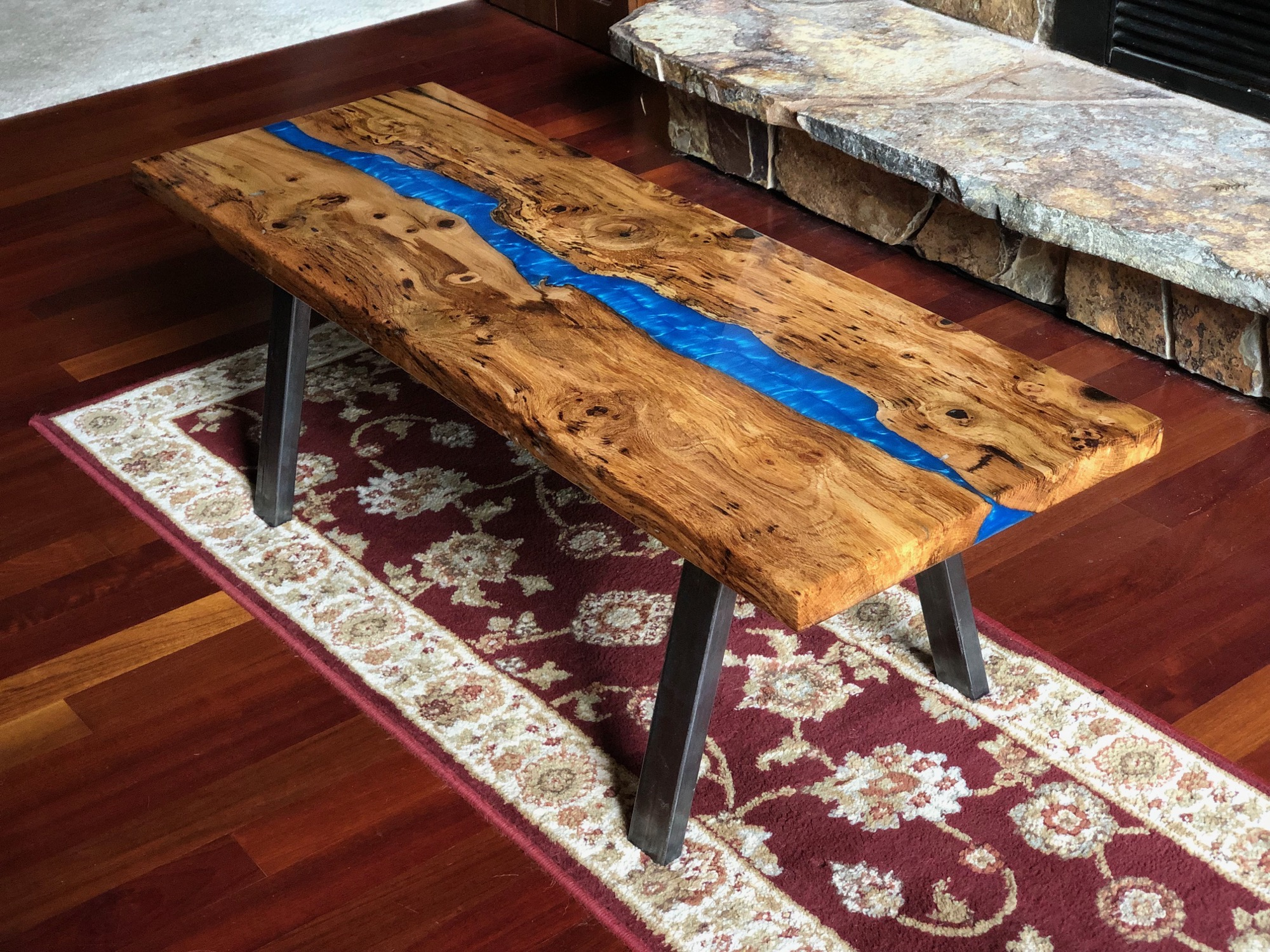 Blue River Coffee Table in Oak