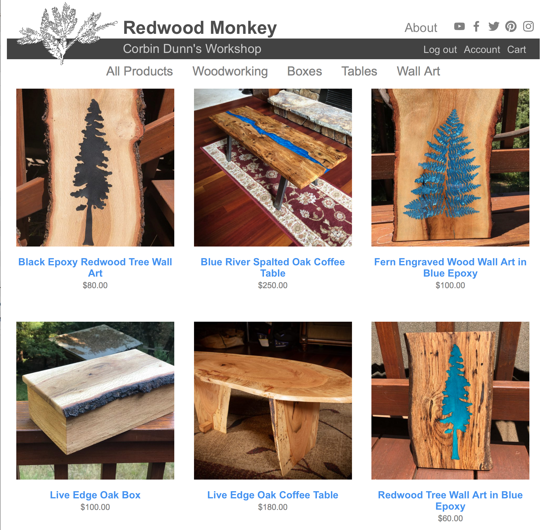 Redwood monkey workshop screenshot