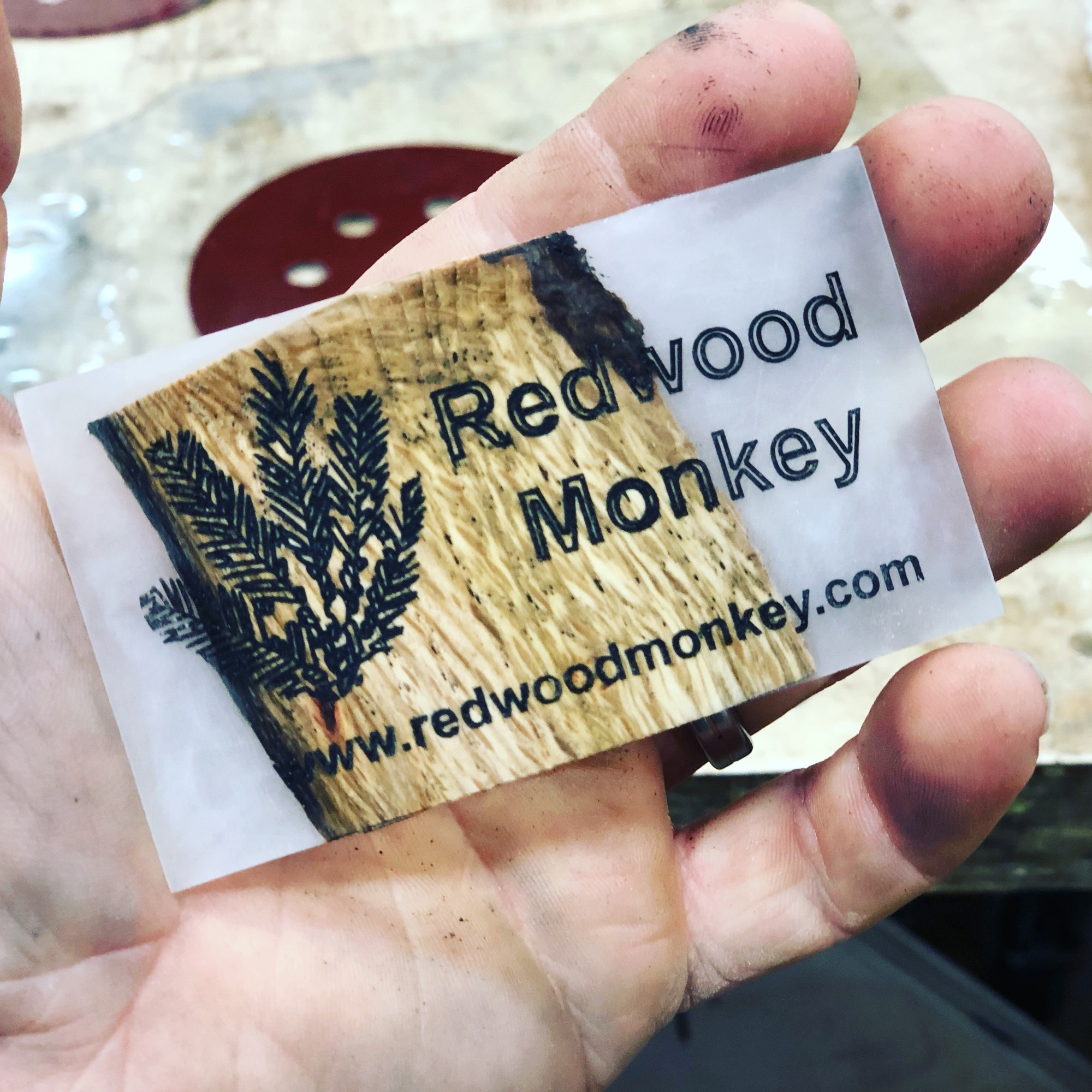 Redwood Monkey Business Cards