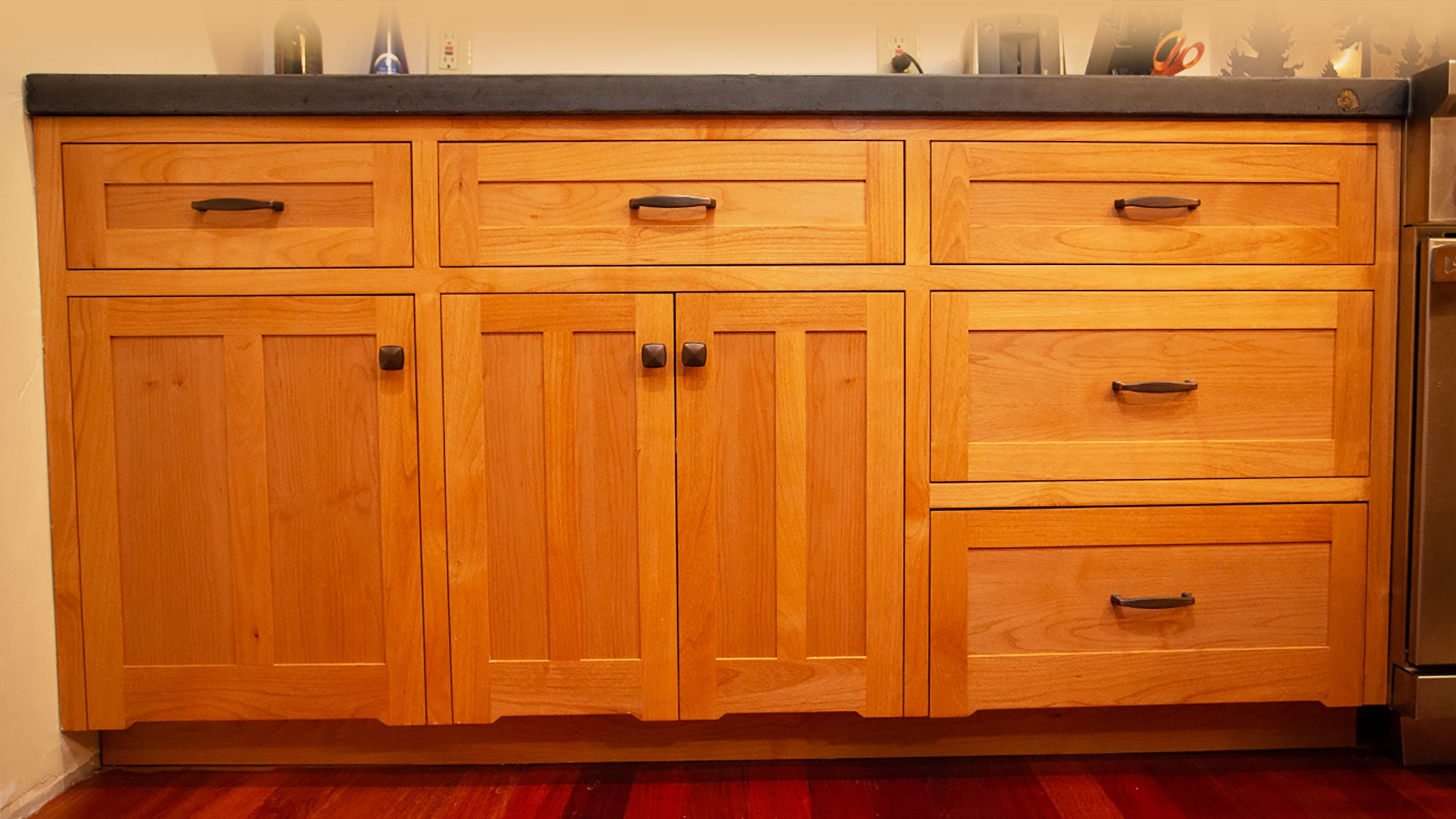 Cabinets shot