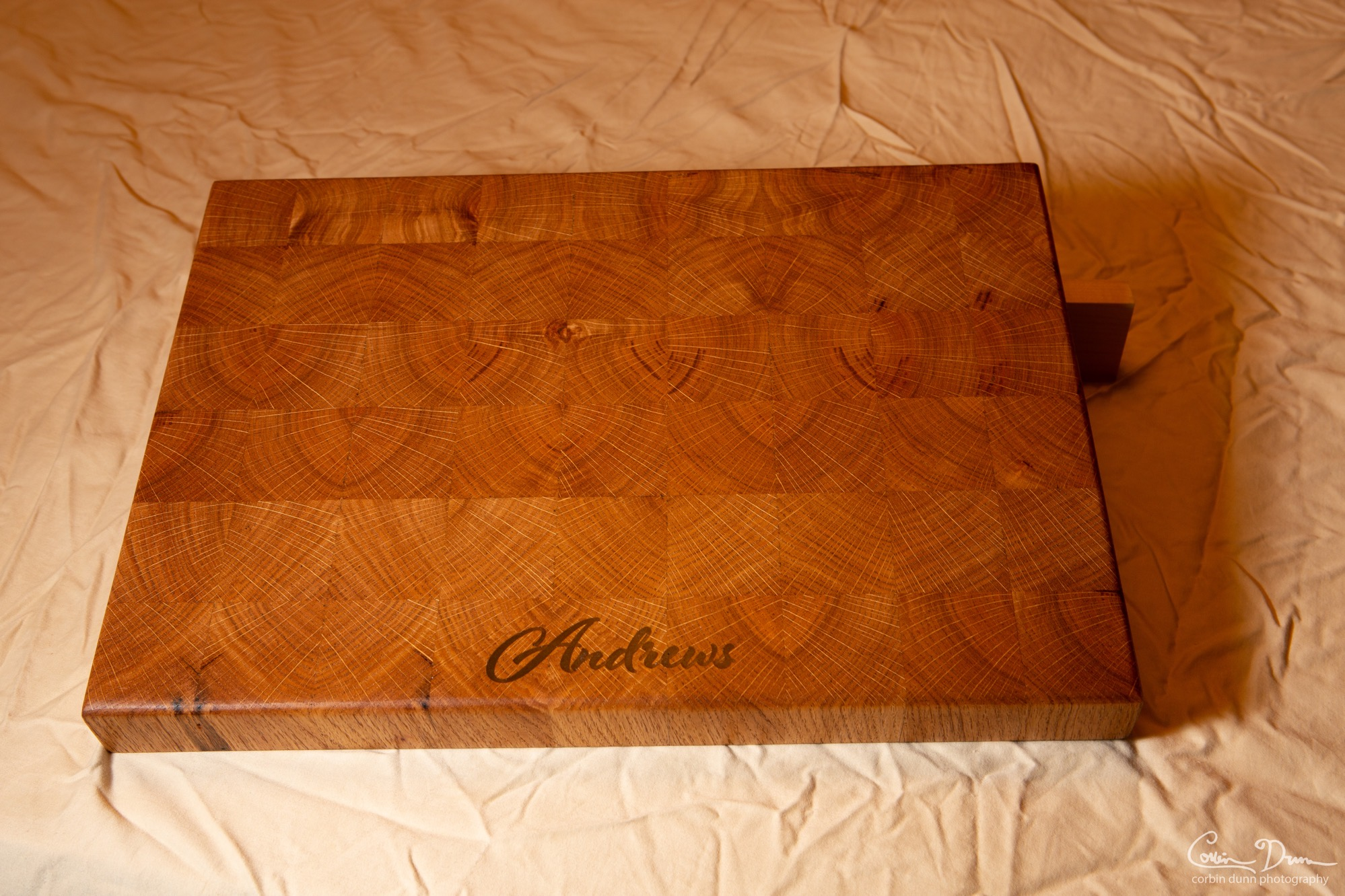 Andrews Epoxy Engraved Cutting Board  UW1A6594