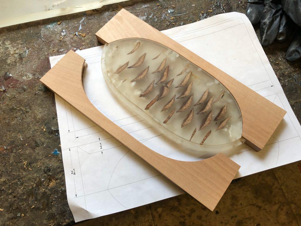 Pine cone box CNC work