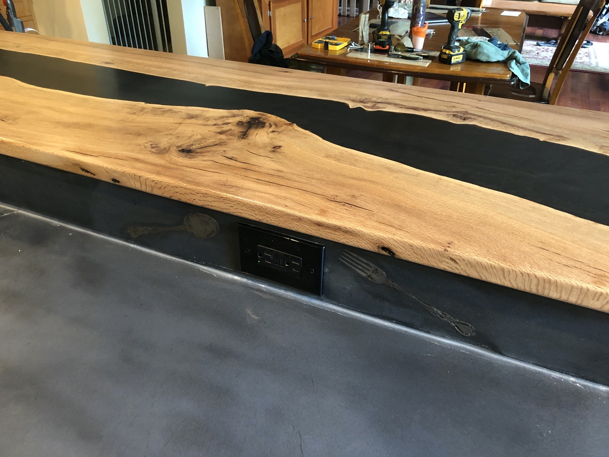 River Table bar top